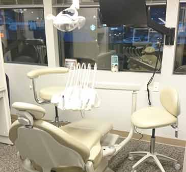 Dental chair at Life Long Dental
