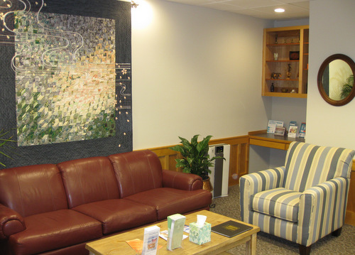 Interior waiting area at Life Long Dental in Silverdale